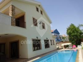 4bed+attic Detached House in Archangelos with pool