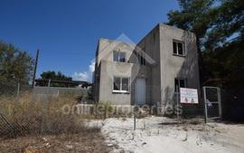 Incomplete three-bedroom house in Paphos