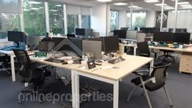 Stunning city center office in a high end serviced office building