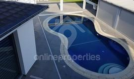 Luxury partly furnished house with swimming pool