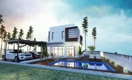 Sea view smart home